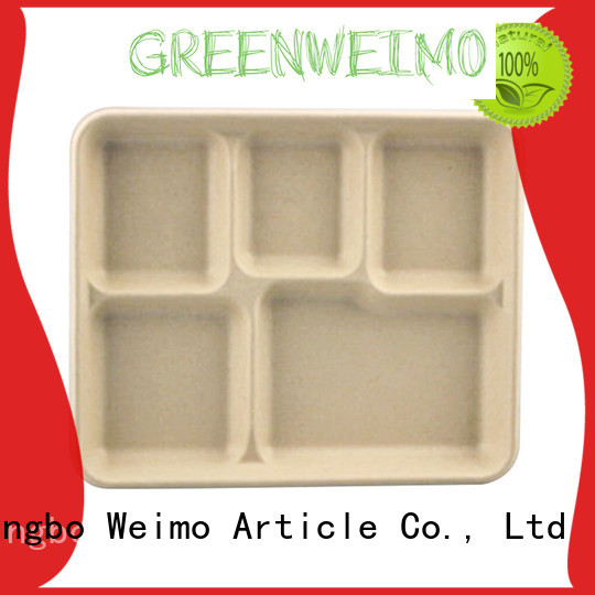 Greenweimo online compostable trays meet different market for wet food