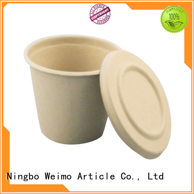 New biodegradable food service lid for business for party