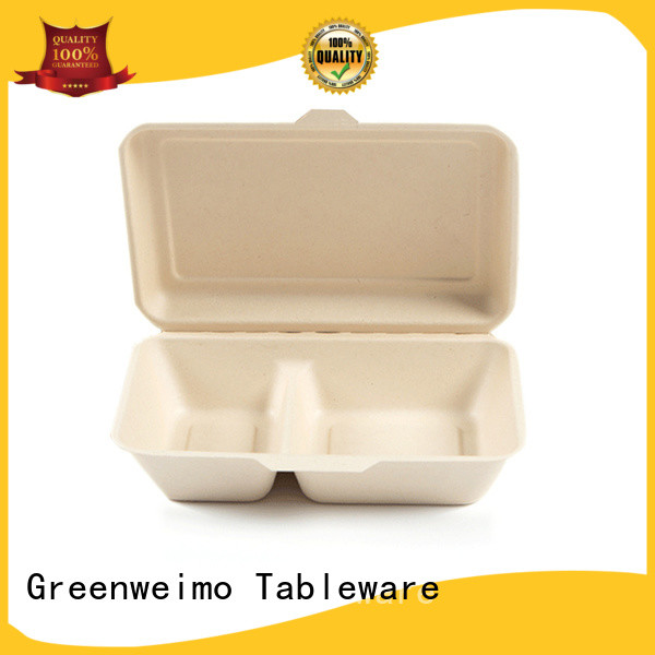 Greenweimo biodegradable containers takeout for delivering