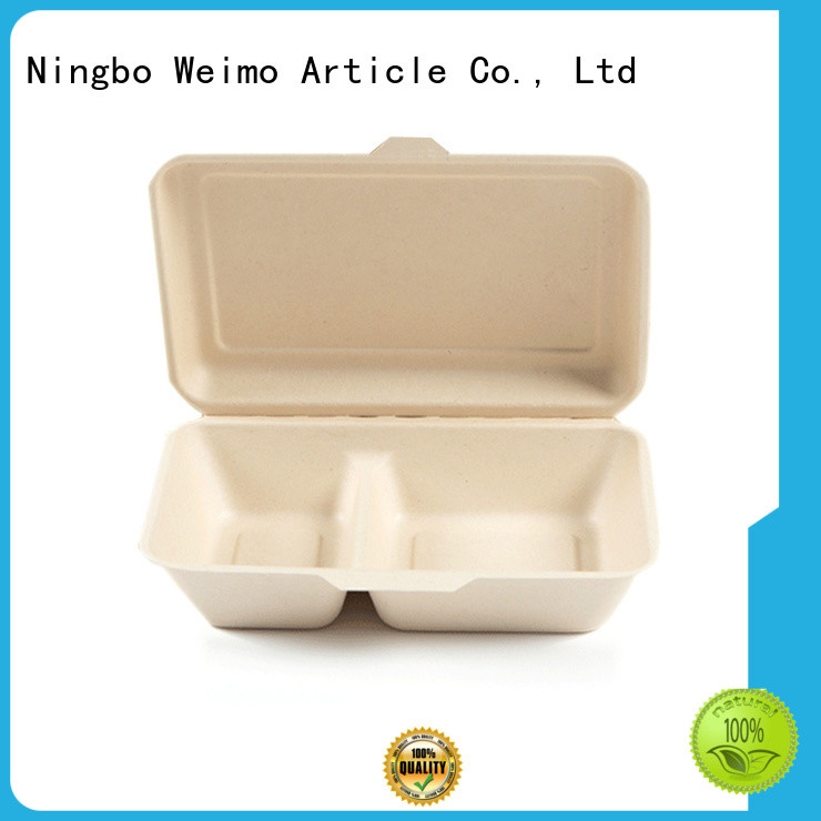 Greenweimo Best biodegradable clamshell packaging manufacturers for food