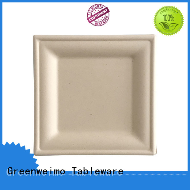 Greenweimo material eco friendly disposable bowls Supply for wet food