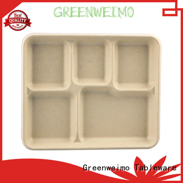 Greenweimo bagasse trays meet different market for party