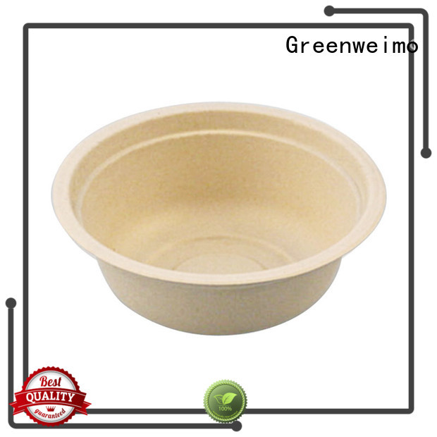 Greenweimo compostable bowls on sale for food