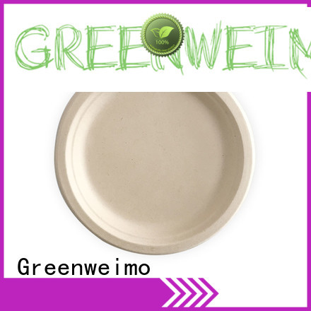 Greenweimo sugarcane bagasse products manufacturers for oily food