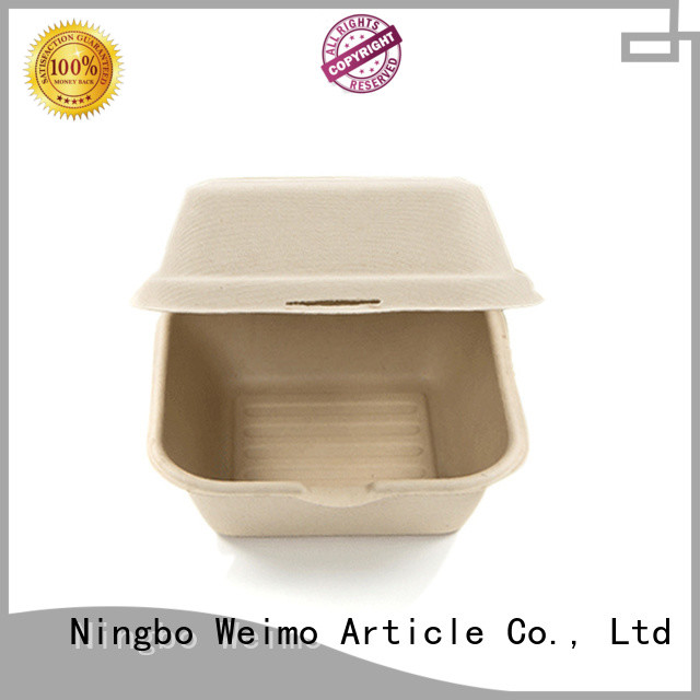 Greenweimo biodegradable clamshell containers Suppliers for food