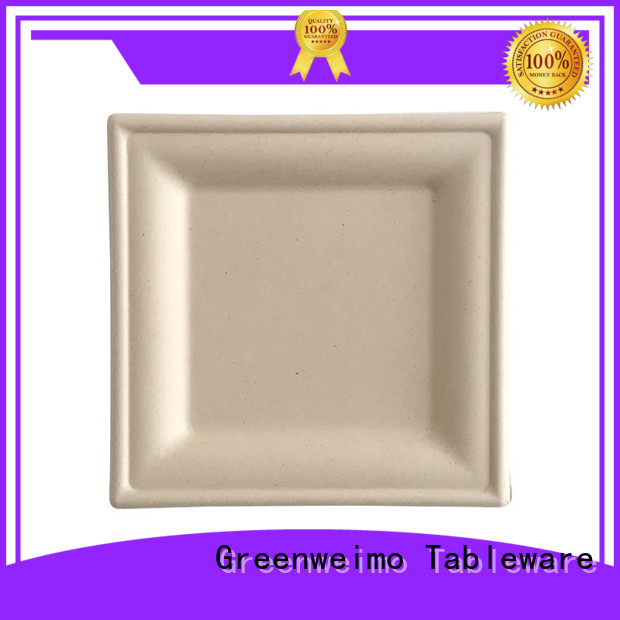 Greenweimo biodegradable eco friendly tableware manufacturers for hot food