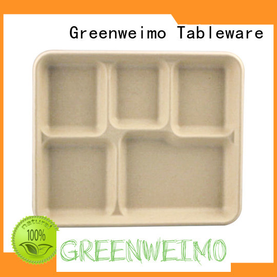 safe compostable trays on sale for oily food