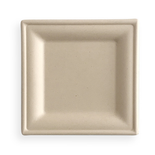 Wheat Straw Square Plate