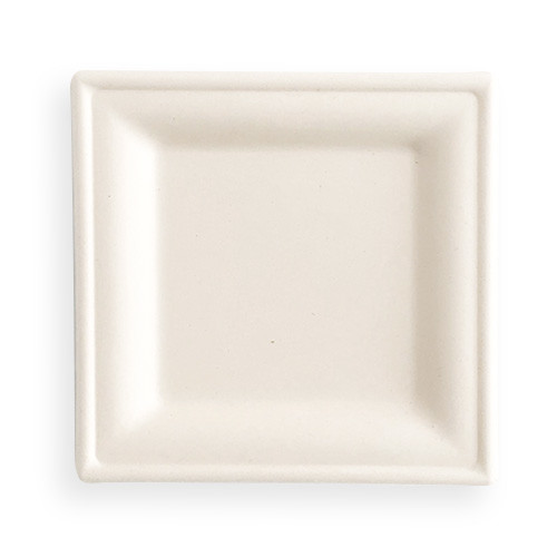 Bagasse Product Of Biodegradable Square Plate
