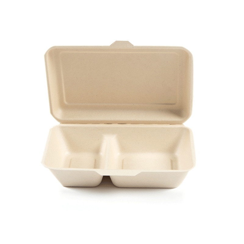 Foldable Food Biodegradable Takeout Container