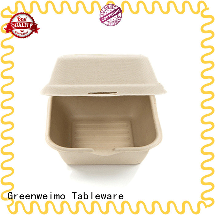 Greenweimo useful biodegradable clamshell meet different needs for food