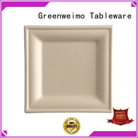 Greenweimo material wholesale disposable dinnerware Supply for party