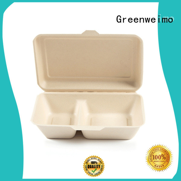 Greenweimo Custom biodegradable to go boxes factory for package
