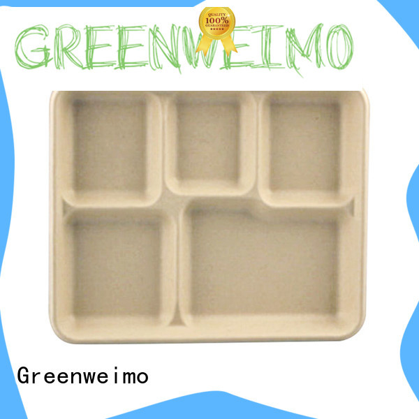 Best biodegradable food trays sugarcane for business for oily food