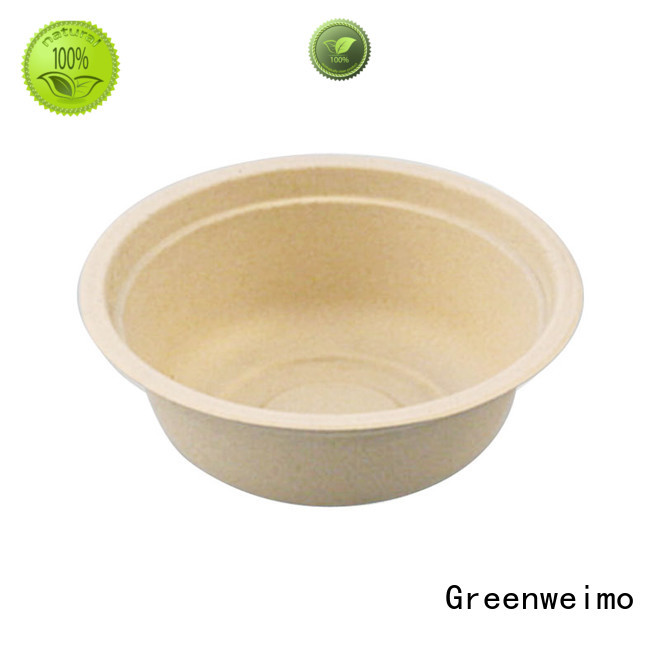 Greenweimo compostable sustainable dinnerware for business for cake