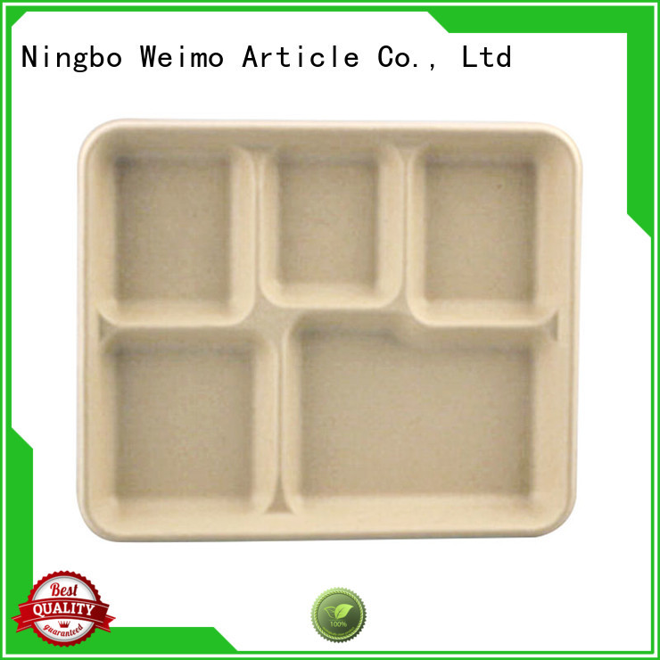 Greenweimo compostable trays meet different market for oily food