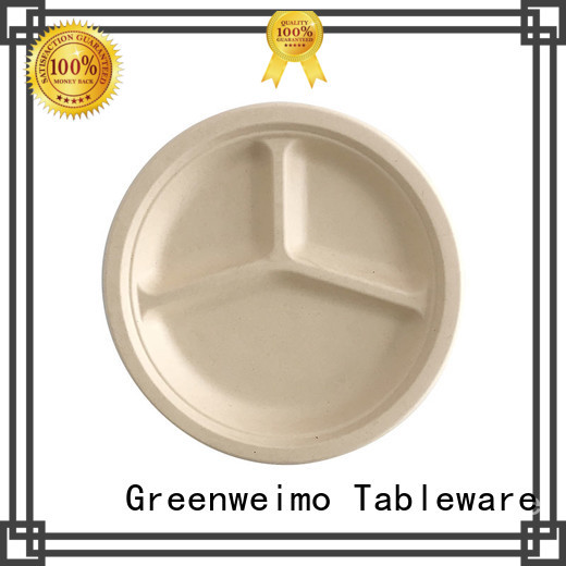 New eco friendly paper plates manufacturers material factory for oily food