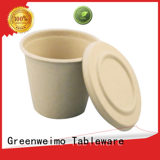 Greenweimo New biodegradable to go containers company for drinking