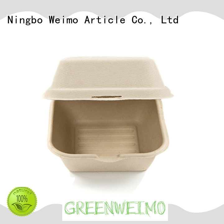 Greenweimo biodegradable clamshell on sale for food