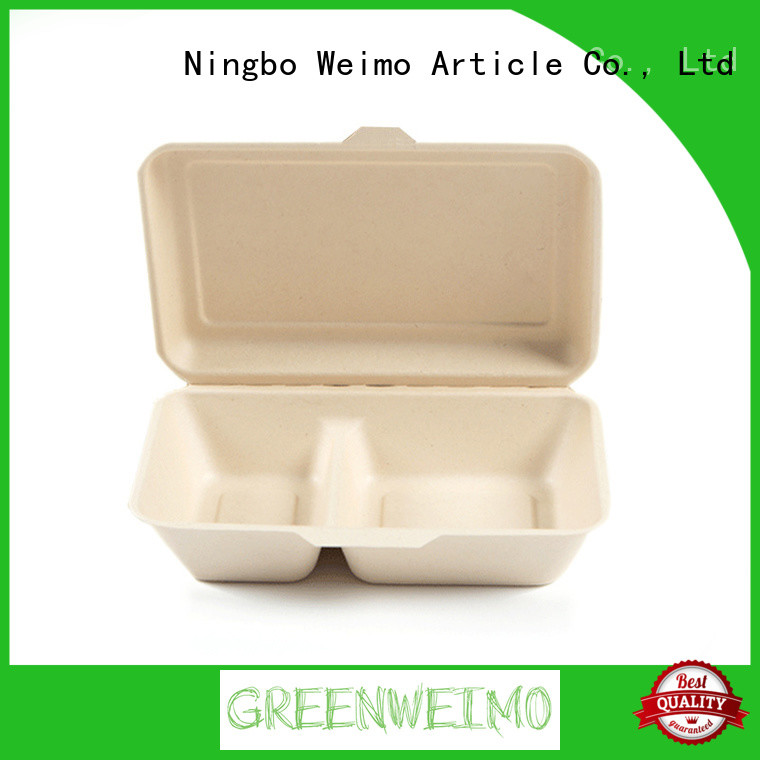 Greenweimo biodegradable clamshell meet different needs for food