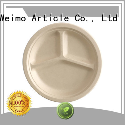 Greenweimo New biodegradable disposable bowls manufacturers for oily food