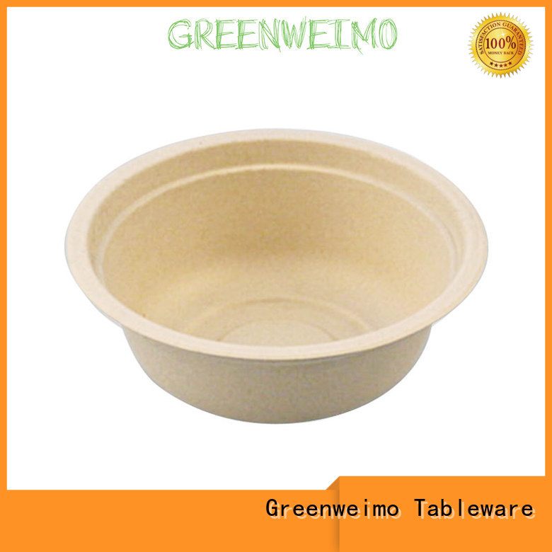 disposable compostable bowls meet different markets for cake