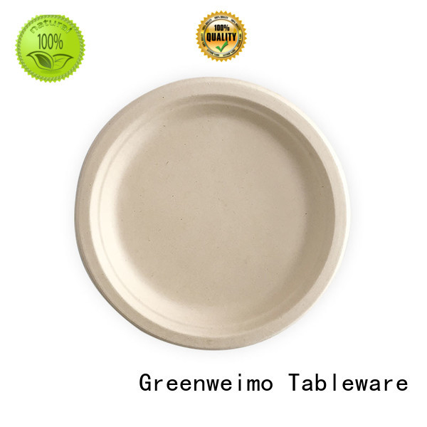 Latest eco friendly plates and cups oval company for hot food