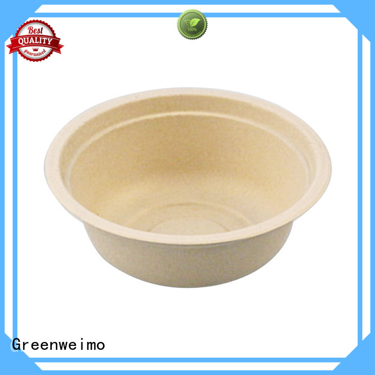 Greenweimo bagasse biodegradable utensils for business for cake