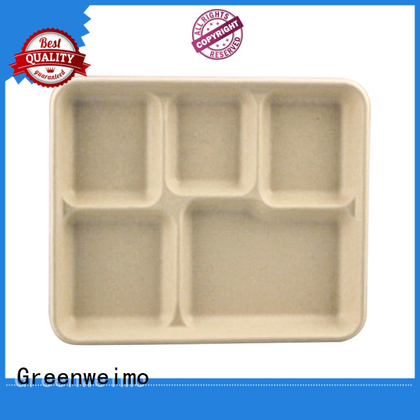 Greenweimo safe biodegradable tray on sale for party