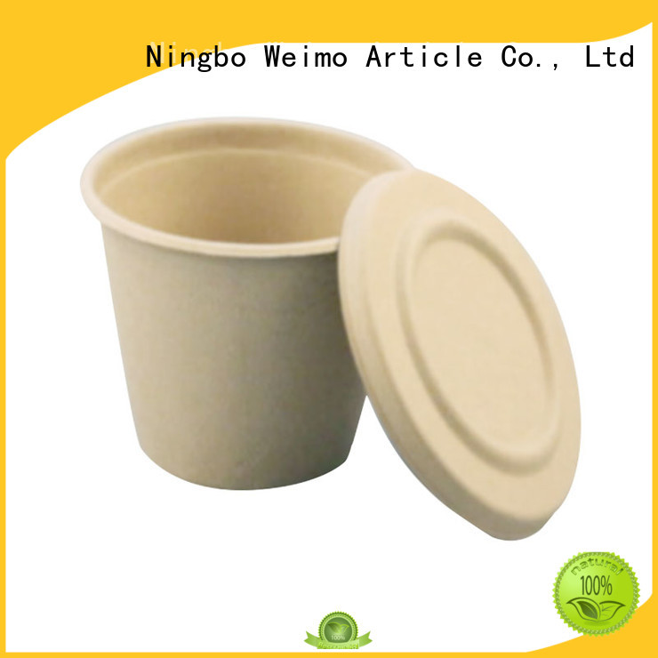 biodegradable cup hinged for water Greenweimo