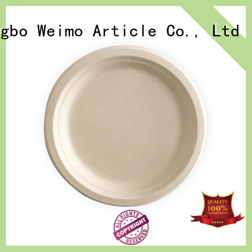 Greenweimo safe compostable plates on sale for party