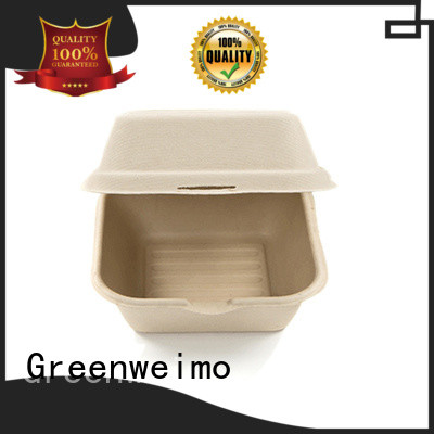 Greenweimo food wholesale clamshell food containers for business for delivering