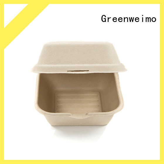 Greenweimo container biodegradable clamshell containers Suppliers for food