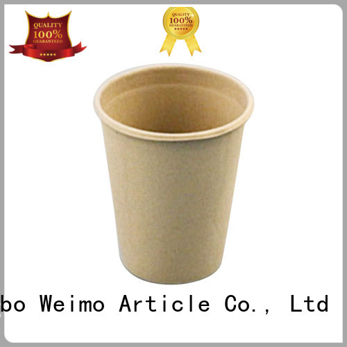 Greenweimo hinged biodegradable cold cups company for water