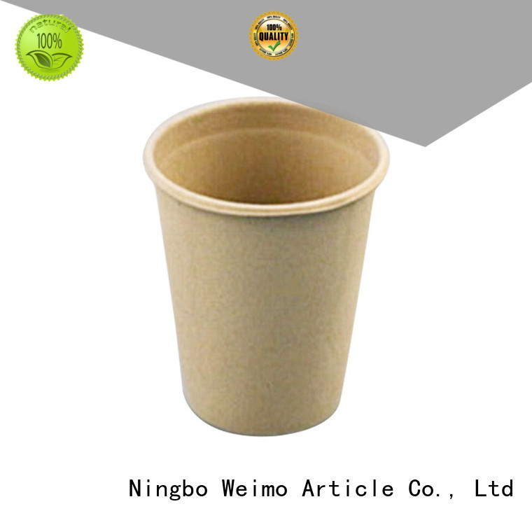 Greenweimo compostable cups production for water