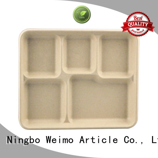 Greenweimo compostable trays on sale for party