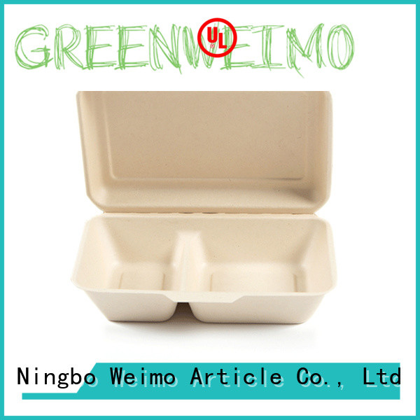 healthy biodegradable clamshell food containers meet different needs for package