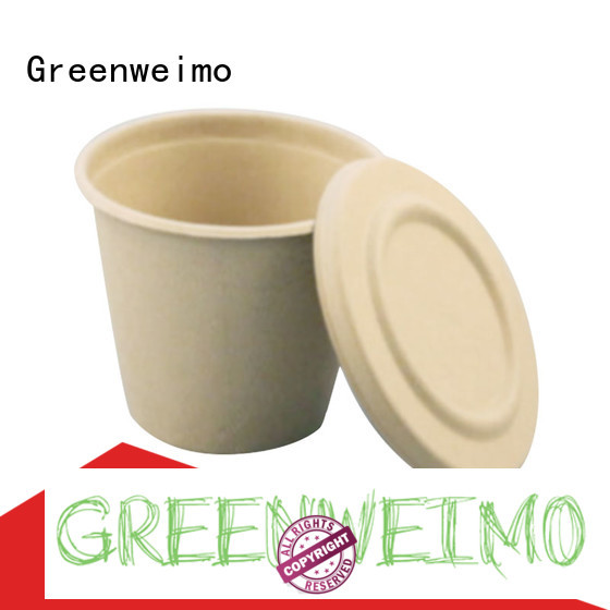 Greenweimo Latest bagasse plates factory for party