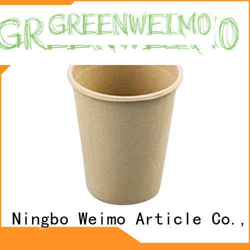Greenweimo online compostable cups tableware for water