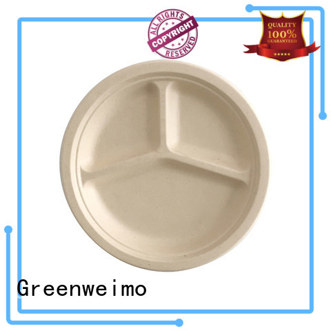 Greenweimo bagasse plate meet different market for activity