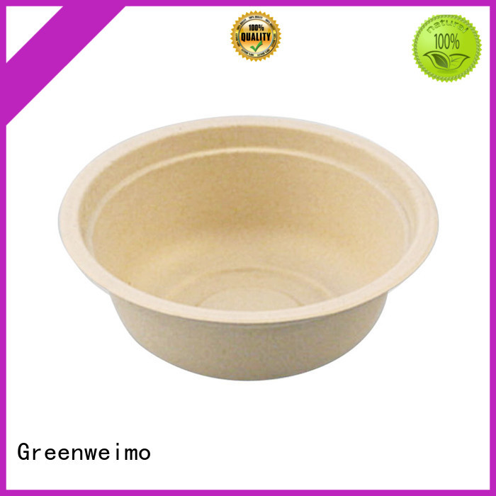 Greenweimo safe biodegradable bowl tableware for meal