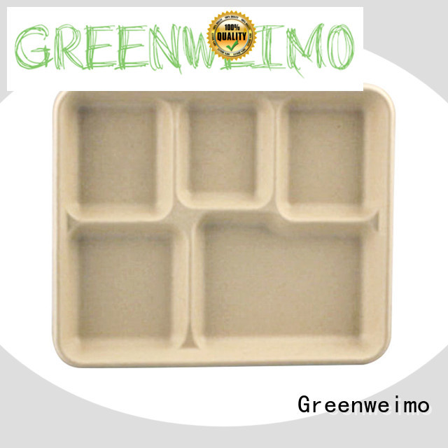 Greenweimo Custom biodegradable bowls manufacturers for hot food