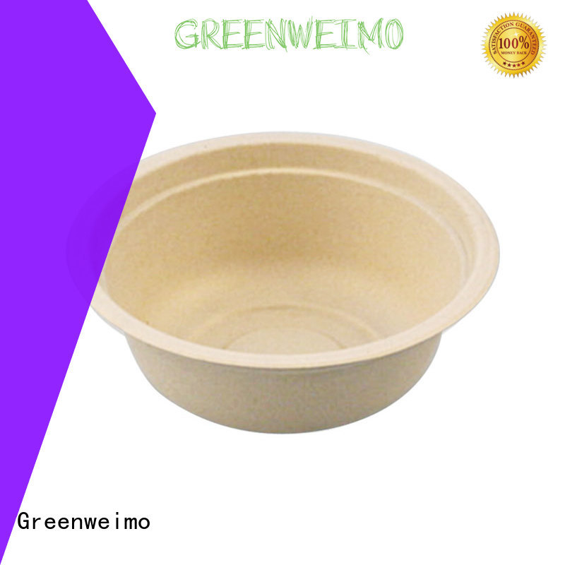 Greenweimo disposable eco friendly food containers factory for meal