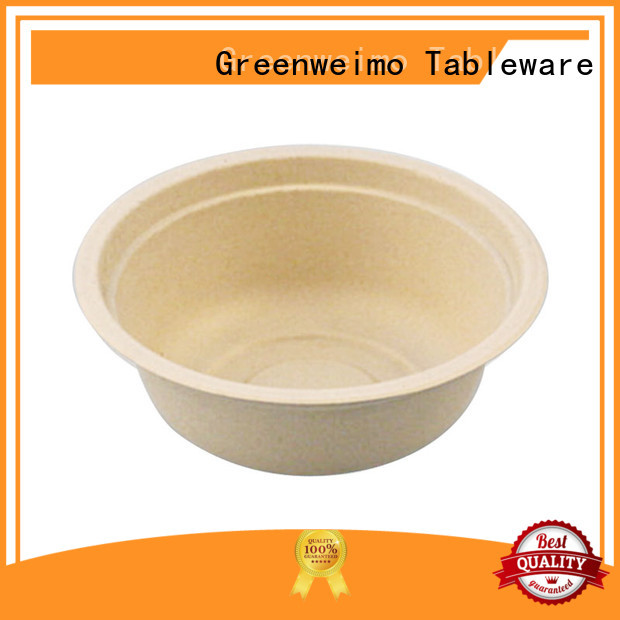 Greenweimo compostable environmentally friendly dinnerware for business for meal
