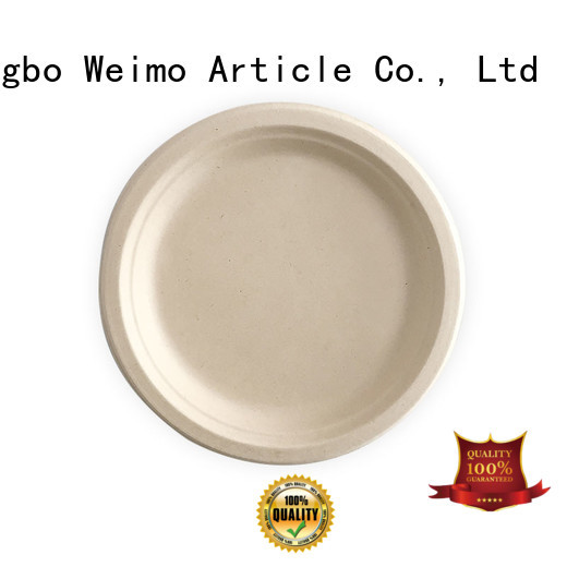Greenweimo square biodegradable paper products factory for oily food