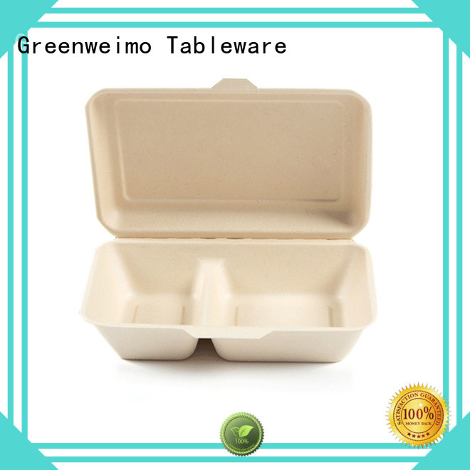 Greenweimo biodegradable containers meet different needs for food