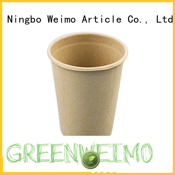 Greenweimo tableware bagasse plates company for drinking