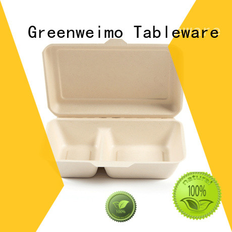 Greenweimo Custom clamshell take out containers Suppliers for delivering