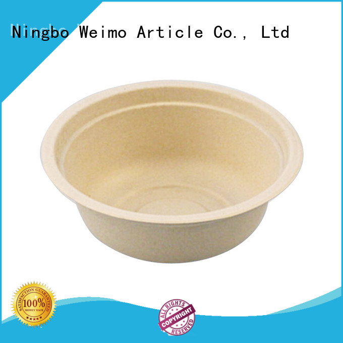 Greenweimo disposable compostable bowls meet different needs for cake