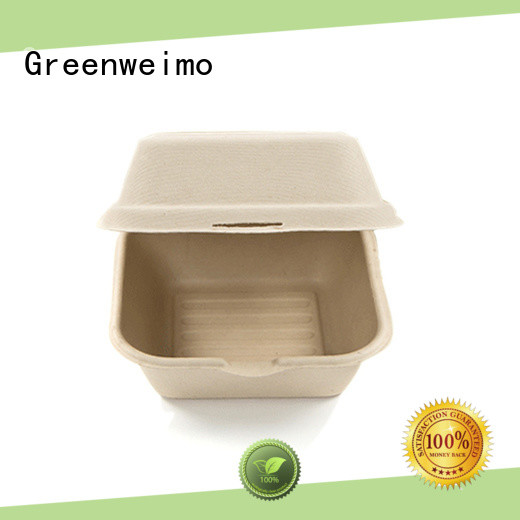 Greenweimo biodegradable clamshell meet different needs for delivering